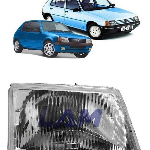 Peugeot 205 Semioptica Derecha D Nq Np 881034 Mlu41800549390 052020 F