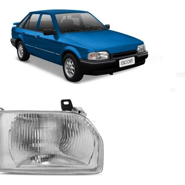 Semioptica Ford Escort Derecha 1988 1989 1990 1991 1992 D Nq Np 730894 Mlu31241037885 062019 F